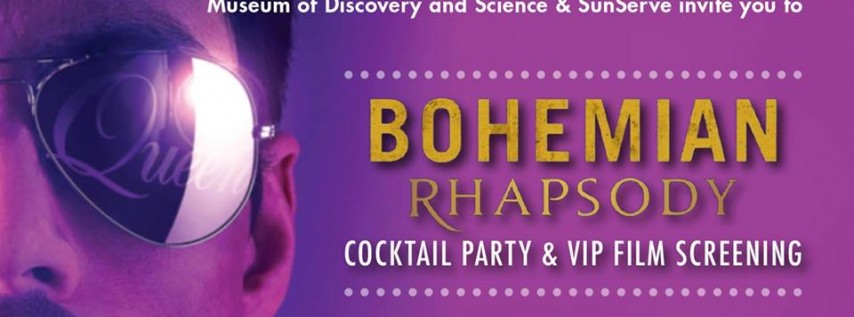 Bohemian Rhapsody Cocktail Party and VIP Film Screening