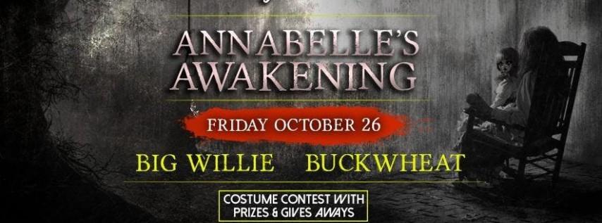 Friday Halloween party at Jackson's Annabelle's Awakening