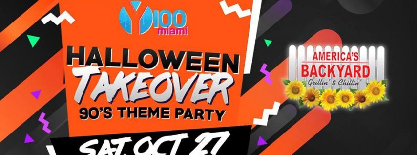 Halloween Takeover '90s Theme Party