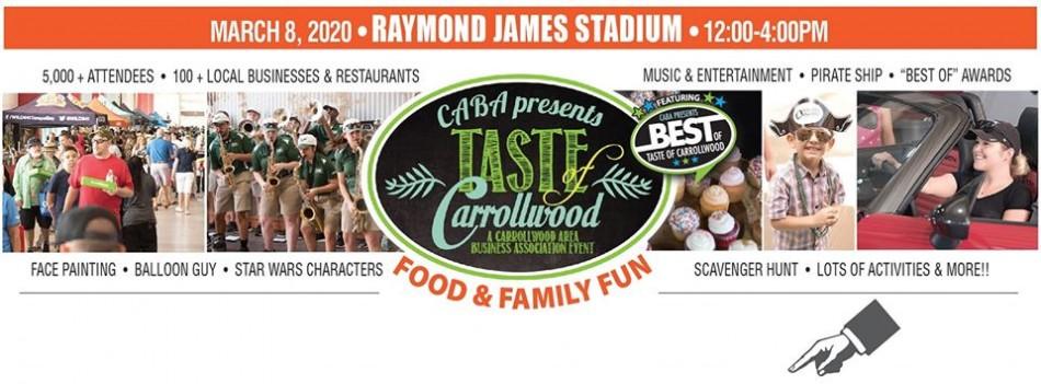 CABA Presents Taste of Carrollwood