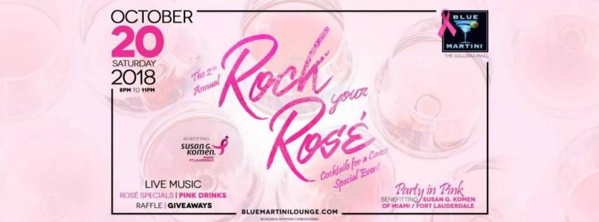 Rock Your Rosé! 2018 Blue Martini Fort Lauderdale