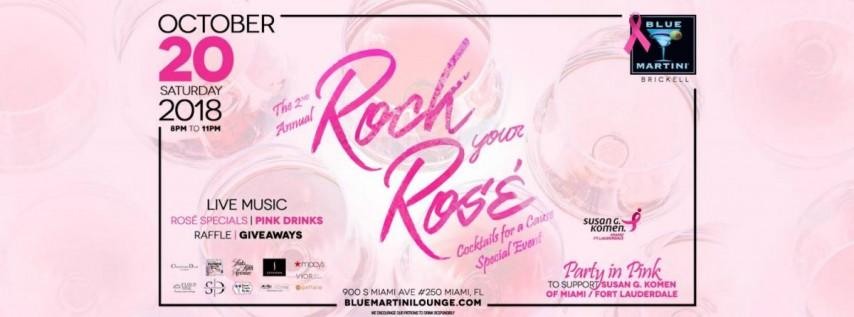 Rock Your Rosé! Blue Martini Brickell