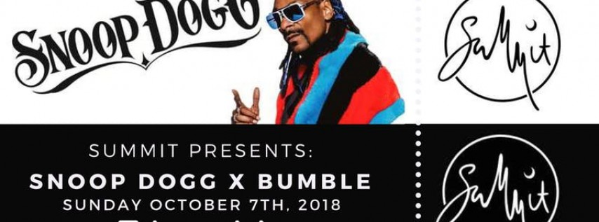 Snoop Dogg X Bumble Festival Afterparty
