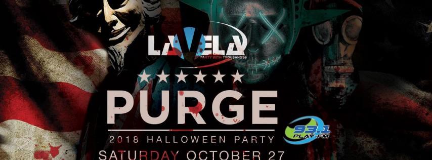 Purge Halloween Party Ft. Heritage & DJ Doc Roc