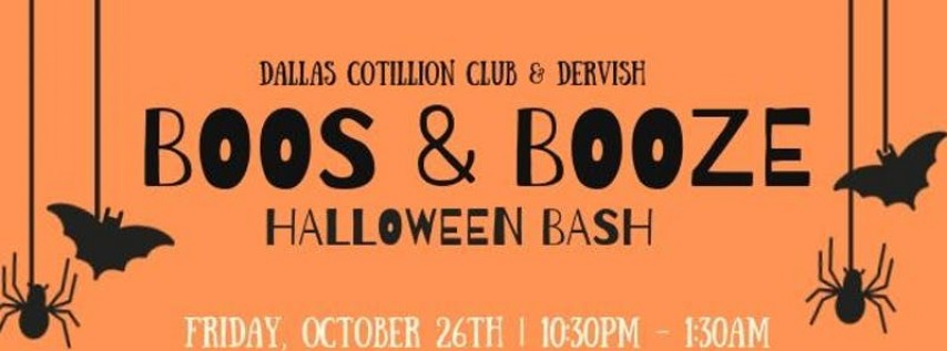 Boos & Booze Halloween Bash