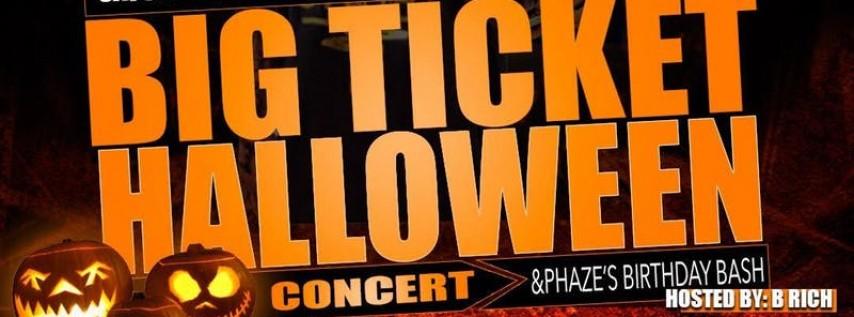 BigTicket Halloween Bash & Concert