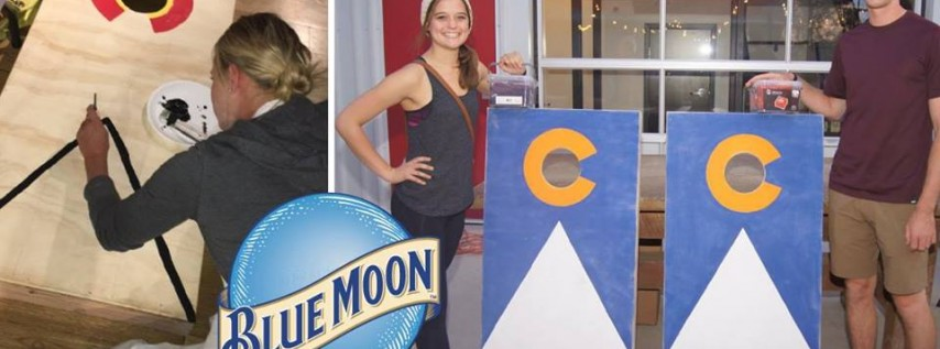 Paint Your Own Corn Hole Set at Blue Moon