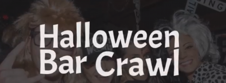 2018 Denver Halloween Bar Crawl