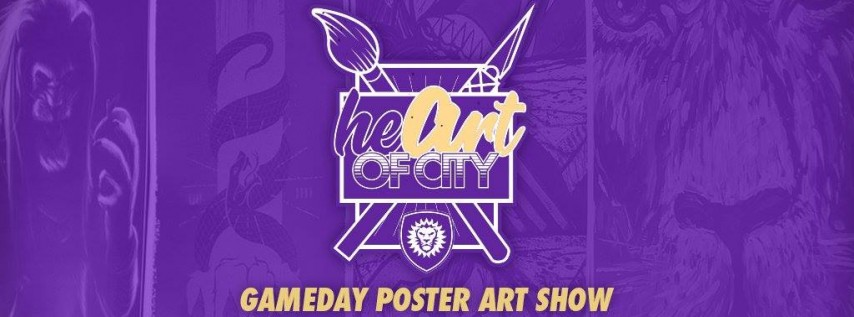 HeART of City Gameday Poster Opening Night and Art Show