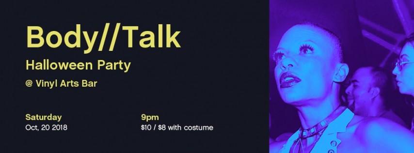 Body//Talk Halloween Party