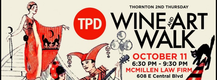 Thornton 2nd Thursday Wine & Art Walk