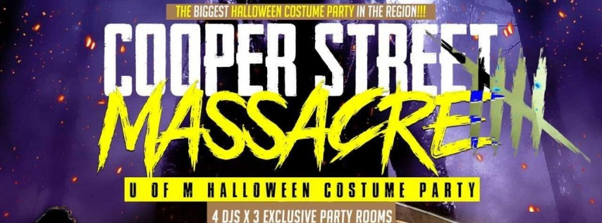 The Cooper Street Massacre: Halloween Costume Party Hosted By @YoungIkeDiddy x #MemphisQues x #MemphisIotas