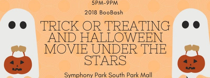 2018 BooBash! Free Trick or Treating and Movie Under the Stars