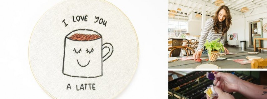 Fall Sip + Stitch: A Hand Embroidery Workshop
