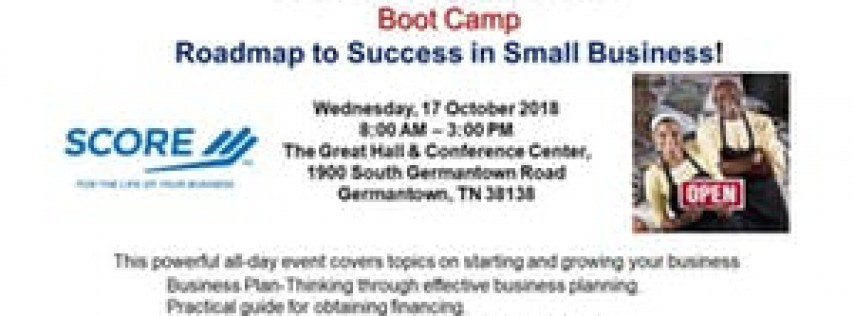 SCORE Memphis Small Business Boot Camp