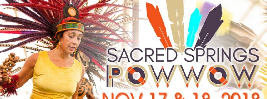 8th Annual Sacred Springs Powwow