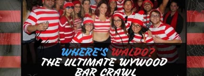 4th Annual 'WHERE'S WALDO?' The Ultimate Wynwood Bar Crawl