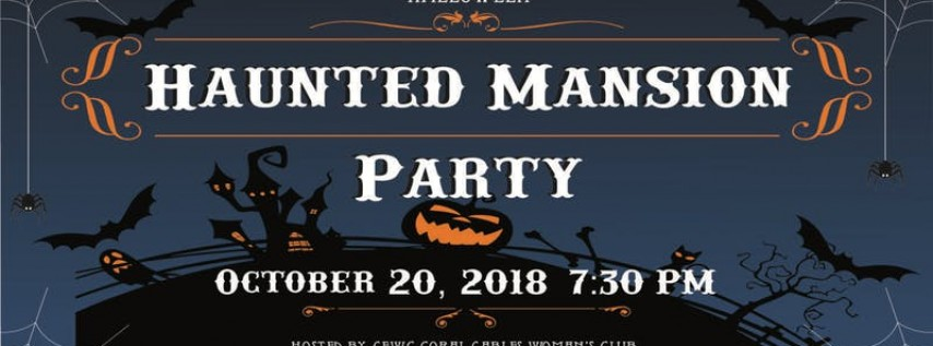 CGWC Annual Halloween Haunted Mansion Party