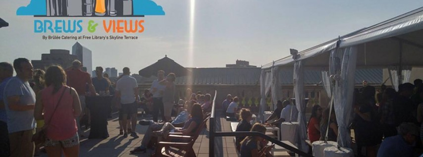 Brews & Views: Rooftop Beer Garden Pop-up