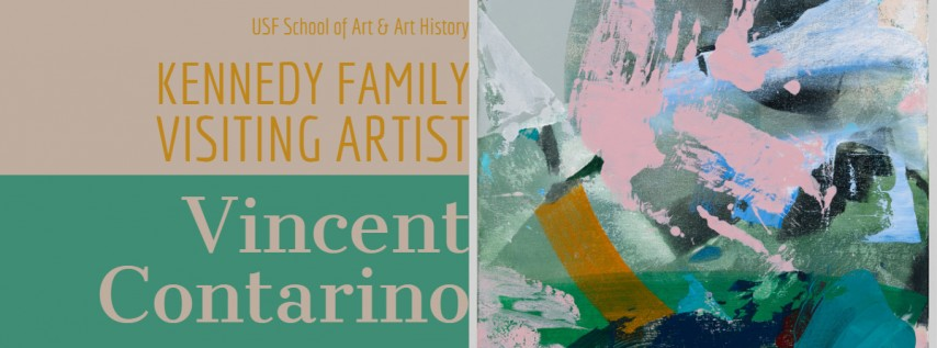 USF Kennedy Family Visiting Artist Vince Contarino