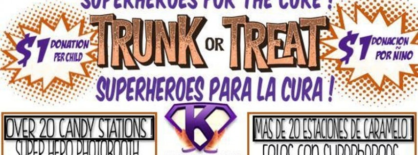 MPS Superhero for the Cure Trunk or Treat !