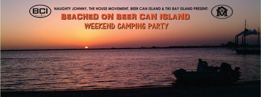 Beached on Beer Can - Free EDM Music Festival!