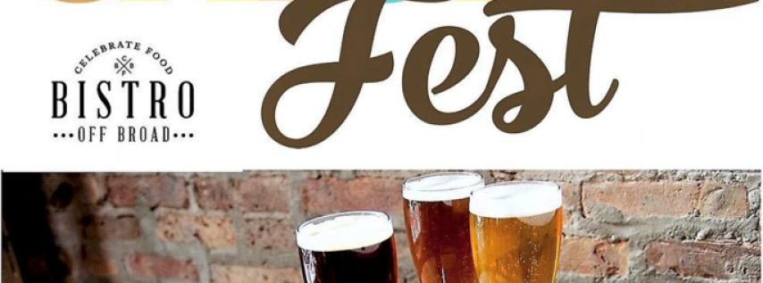 Kick Off Oktoberfest at Bistro Off Broad