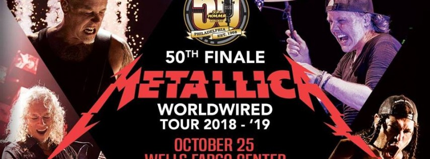 Metallica - WorldWired Tour