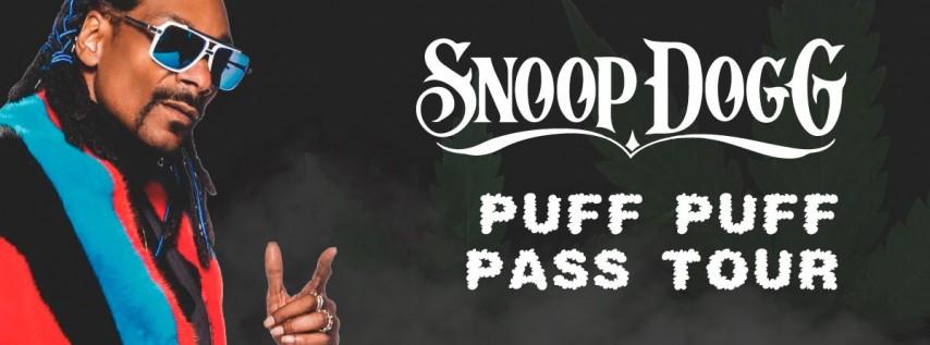 Snoop Dogg's Puff Puff Pass Tour at Jackie Robinson Ballpark