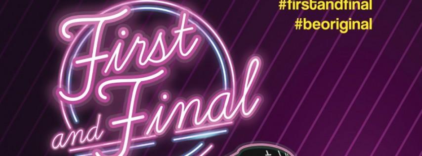 First and Final - Rich Medina