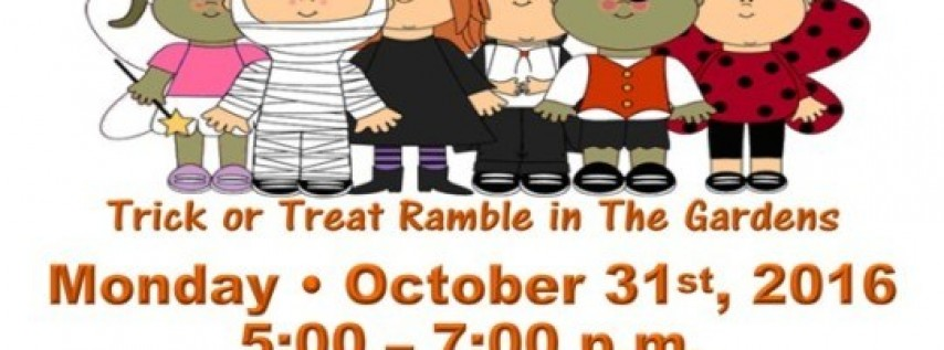 BOOtanical Halloween – Trick or Treat Ramble in The Gardens