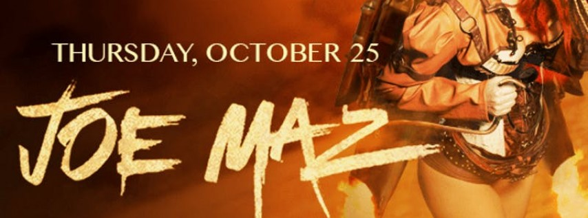 Halloween: Joe Maz at E11even Guestlist