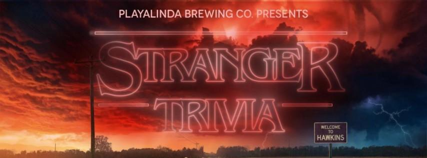 Stranger Things Trivia Night at Playalinda Brewing