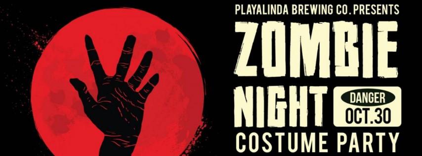 Zombie Night at Playalinda Brewing