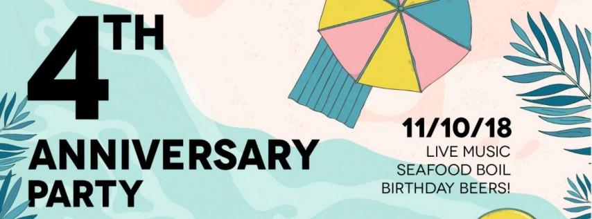 Big Swells Brewed Here: 4th Anniversary Party at Playalinda Brewing