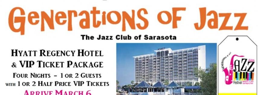 Sarasota 'Generations of Jazz' Festival - Hotel & VIP Ticket Package