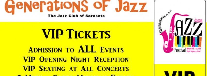 Sarasota 'Generations of Jazz' Festival - VIP Ticket