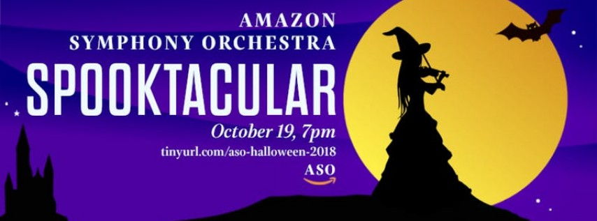 Amazon Symphony Orchestra of Seattle Halloween Spooktacular