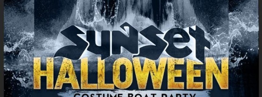 Sunset Sound System Halloween Costume Boat Party 2018!