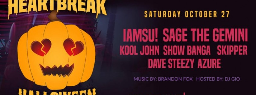 Heartbreak Halloween w/ Iamsu!, Sage The Gemini & More | Massive Event!