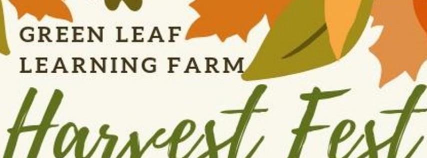 Annual Green Leaf Learning Farm Harvest Festival