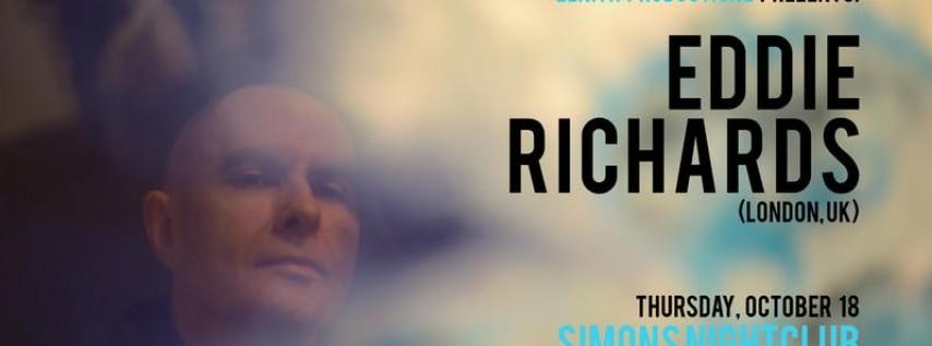 Eddie Richards at SIMONS Nightclub