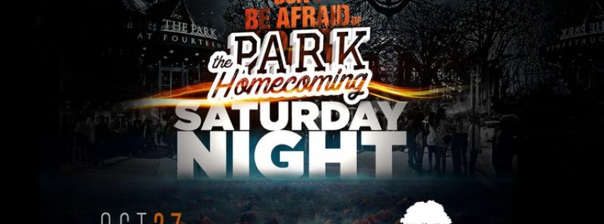 Homecoming + Halloween Saturday!