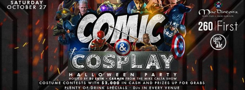 Comics & Cosplay Halloween Party