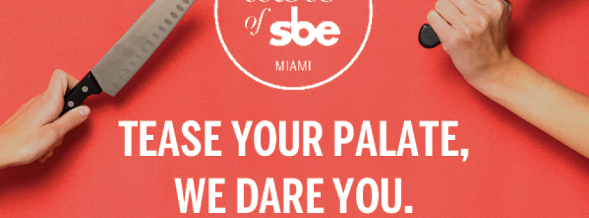 Garden Party at Delano + After Party | Taste of sbe
