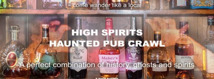 High Spirits Haunted Pub Crawl