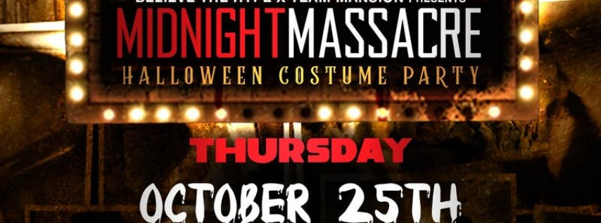 Midnight Massacre (Costume Party)