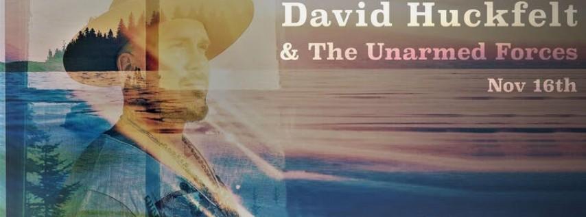 David Huckfelt (of The Pines) Debut Solo Record Live Listening Event