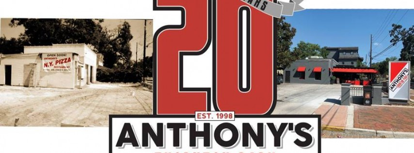 Anthony's Thornton Park turns 20