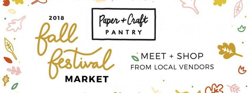 2018 Fall Festival Market